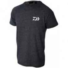 Тениска DAIWA T-SHIRT D-VEC Тъмно сива с бяло лого XL