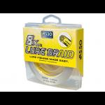 8 нишково плетено влакно ASSO Lure Braid x8 - 150м 0,08 мм - жълто