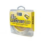 8 нишково плетено влакно ASSO Lure Braid x8 - 150м 0,10 мм - жълто