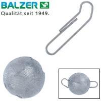 Джиг глава /чебурашка/ с подвижна карабина Balzer Shirasu - 25 грама - 3 броя
