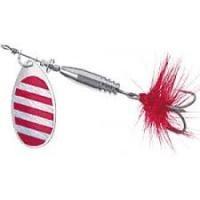 Въртяща блесна Colonel Red Stripe № 4 с холограма