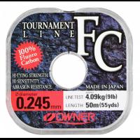 Флуорокарбон Owner Tournament 50 метра - 0.18 мм