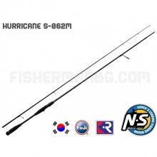 Спининг въдица Hurricane S-862 M Black Hole 2.60 m 12-36 g