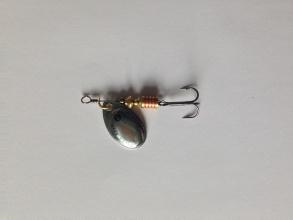 Въртяща блесна Fil Fishing Filex Silver №3 - сребриста