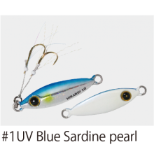 Джиг Hayabusa Jack Eye Hirarin FS-435 7 г - №1 - UV Blue Sardine Pearl