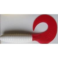 Силиконова примамка -  туистер Relax 5 - 9 см - цвят 48