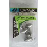 Джиг глава JIG Owner Football Type - 5 броя в пакет