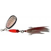 Въртяща се блесна Pezon Michel Buck Pike № 4 - 18 g, цвят FULL SILVER
