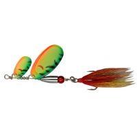 Въртяща се блесна /тандем/ Pezon Michel Buck Pike №2 и №6 - 27 g цвят FIRE TIGER