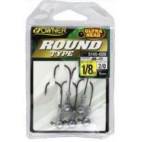 Леки джиг глави Owner Round Type 3.5 гр