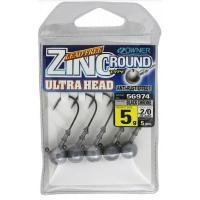 Джиг глава Owner Zinc Ultra Head - 5 гр - кука №2/0 - 5 броя в пакет