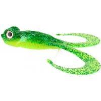 Силиконови примамки жаби Gunki BULL FROG - 2 бр - цвят GREEN STRASS
