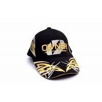 Шапка с козирка Owner BREATHATEC - цвят Black Gold