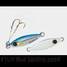 Джиг Hayabusa Jack Eye Hirarin FS-435 5 г - №1 - UV Blue Sardine Pearl