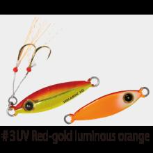 Джиг Hayabusa Jack Eye Hirarin FS-435 5 г - №3 - UV Red Gold Luminous Orange