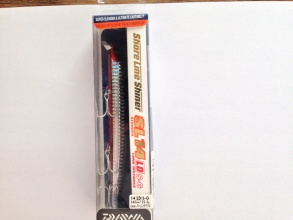 Воблер DAIWA Shore Line Shiner 145 мм LD S-G Slender 22.5 g burning iwashi
