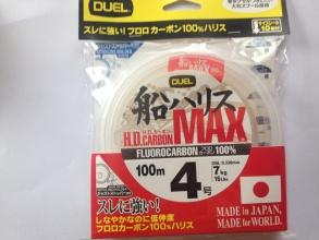 Флуорокарбон DUEL H.D Fluorocarbon MAX 100% 100м 0.33 mm