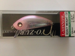 Воблер YO-ZURI L-MINNOW HEAVY WEIGHT Sinking 44 mm 9 g - CP