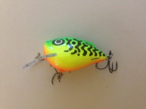 Воблер Salmo Squarebill 5 floating Green Tiger GT
