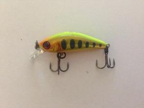 Воблер Illex Chubby Minnow 35 Sinking - Visible Gold Trout