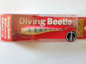 Воблер Skagit Designs Diving Beetle 50 мм 3.2 g SP - F010T