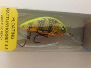 Воблер Salmo Rattlin Hornet 45 mm 6 g Fl - GFP