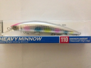 Воблер DUEL Hardcore Heavy Minnow F1190 Sinking 110 mm 37 g - HCA