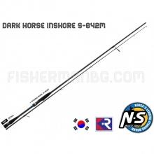 Спининг  въдица Black Hole Dark Horse Inshore S-842M 2.54 m - 10-32 г