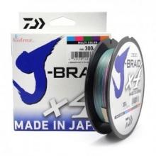 4 нишково плетено влакно J-Braid Multicolcor - 300 m