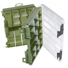 Кутия двустранна за изкуствени примамки Cormoran Tackle Box размери - 28x18x7 см