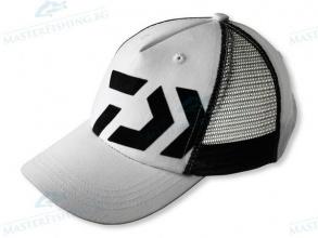 Шапкa Daiwa D-VEC - бяла с черно лого