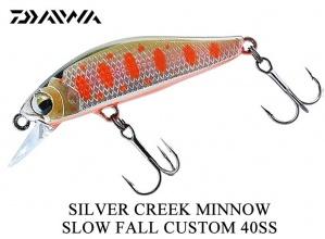 Воблер Daiwa silver creek minnow slow fall custom 40 mm - Orange Yamame