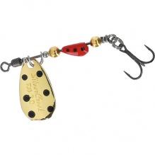 Въртяща се блесна Daiwa Silver Creek Spinner - 3 гр - ladybug
