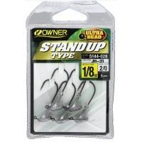 Джиг глави Owner Stand Up Type - 3,5 гр - кука No 2/0 - 5 бр в опаковка