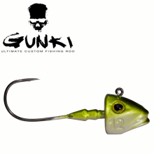 Джиг глава Pezon & Michel  Gunki - G'Fish 12 грама - 3 бр. в пакет