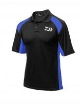 DAIWA Тениска черно/синьо