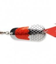 Блесна клатушка Cormoran CORA-Z CLASSIC цвят сребърно-червен 16 g