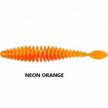 Силиконова примамка Quantum T-Worm P-Tail - 65 мм - neon orange - 6 броя