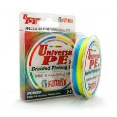 4 нишково плетено влакно Fanatik UNIVERSAL - 150 м 4 нишково плетено влакно UNIVERSAL PE 0.8  - 150 м