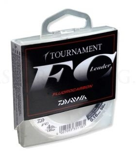 Флуорокарбон  DAIWA TOURNAMENT FC 50м 0.18 mm