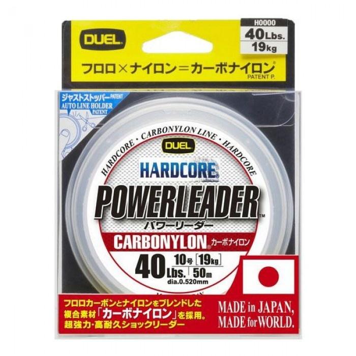 Флуорокарбон Hardcore Powerleader DUEL 50 m 0.43 мм