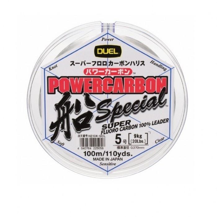Флуорокарбон Powercarbon 100% 100м DUEL Флуорокарбон Powercarbon 100% 100м DUEL