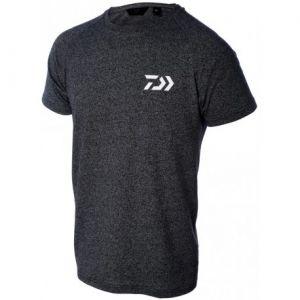 Тениска DAIWA T-SHIRT D-VEC Тъмно сива с бяло лого L