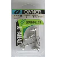 Джиг глава JIG Owner Football Type - 5 броя в пакет Джиг глава JIG Owner Football Type 7 гр