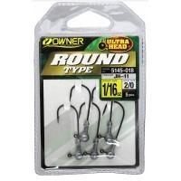 Леки джиг глави Owner Round Type 1.75 гр