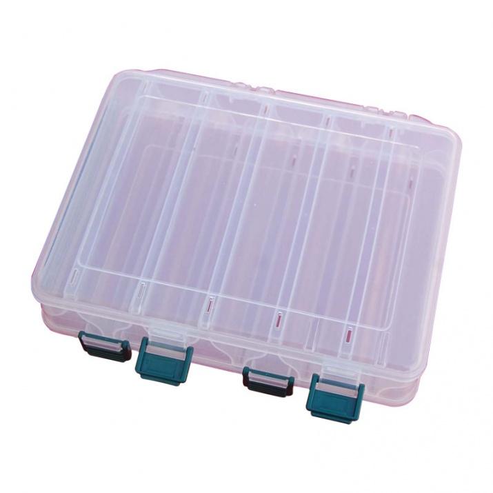 Кутия за морски воблери с 10 отделения  HB - 328