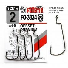 Офсетна кука Fanatik OFSET Premium-3324 Офсетна кука Fanatik OFSET Premium-3324 № 2
