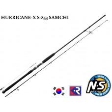 Спининг въдица Black Hole Hurricane-X S853 2.57 м 30-125 г Samchi