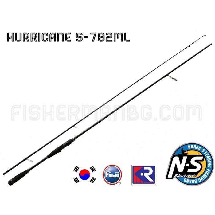 Спининг Hurricane S-702МL Black Hole 2.13 m 8-18 g