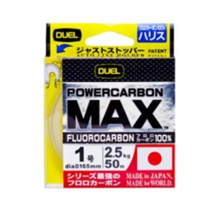 Флуорокарбон Powercarbon Max 50м 100% DUEL Флуорокарбон Powercarbon Max 50м 100% DUEL